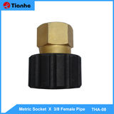 Metric Socket  X  3/8 Female Pipe -THA-08