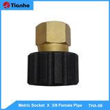 Metric Socket X 3/8 Female Pipe-THA-08