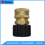 3/8 QC Socket  X  Female Metric-THA-13