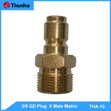 3/8 QD Plug XMale Metric-THA-10