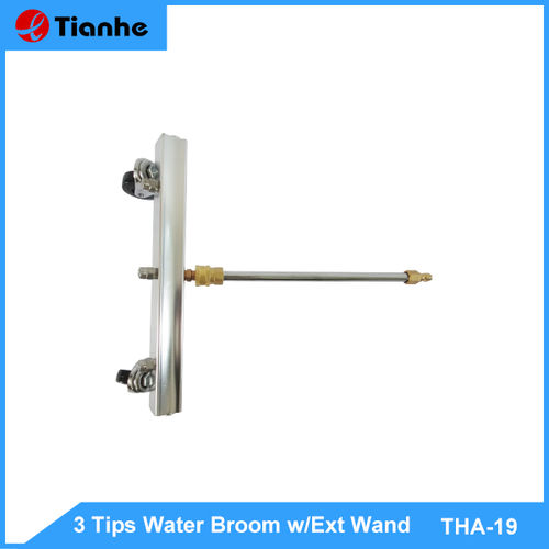 3 Tips Water Broom w/Ext Wand-THA-19