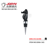Glass Head Wine Stopper -SD06-36S