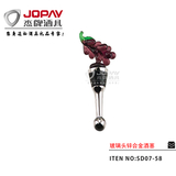 Glass Head Wine Stopper -SD07-58