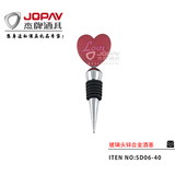 Glass Head Wine Stopper -SD06-40