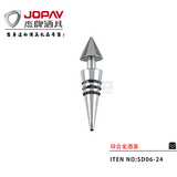 Zinc Alloy Wine Stopper -SD06-24D