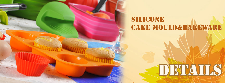 Silicone cake mould&bakeware