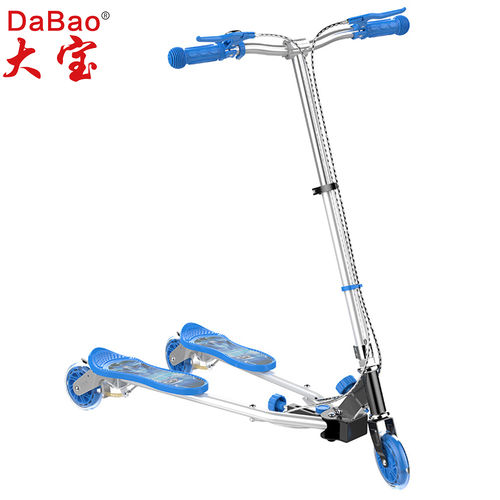 3 wheel frog swing scooter-DB8088M-GD-W3