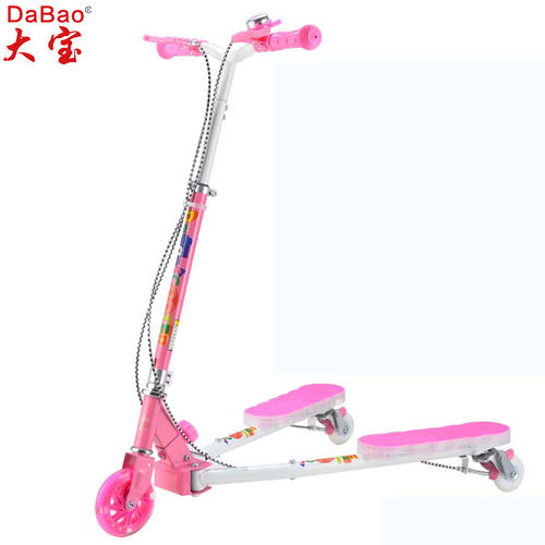 3 wheel frog kick scooter-DB8175MMC-W2-F