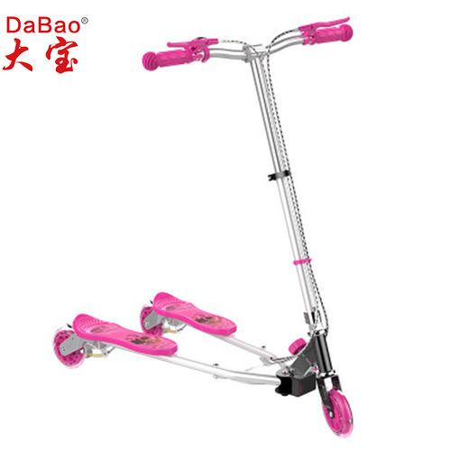 3 wheel frog swing scooter-DB8088M-W3