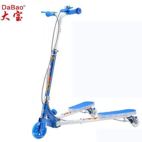 3 wheel frog kick kids scooter-DB8175MMC-YYSG-W2-F