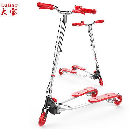 3 wheel frog kick scooter-DB8068M-W1-F