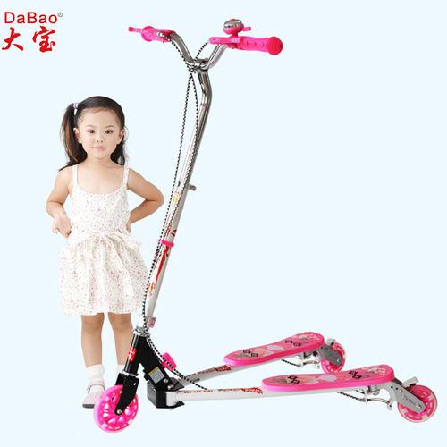 3 wheel frog kick scooter-DB8068S-W1