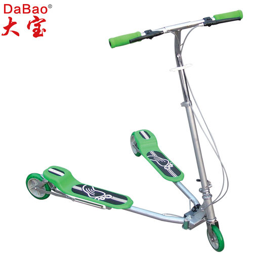 3 wheel frog kick scooter-DB8039M-W1-F
