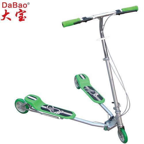 3 wheel frog kick scooter-DB8039M-W1-F