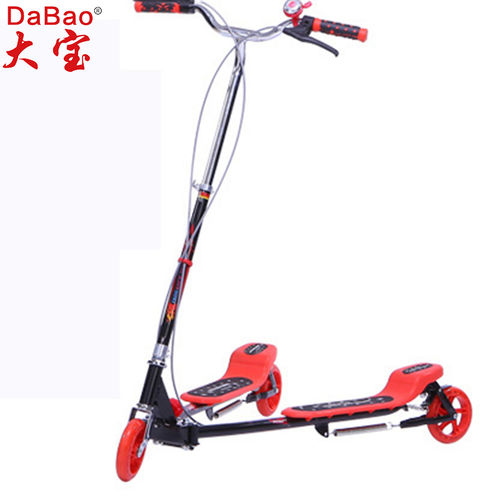 3 wheel frog kick scooter-DB8052L-W1