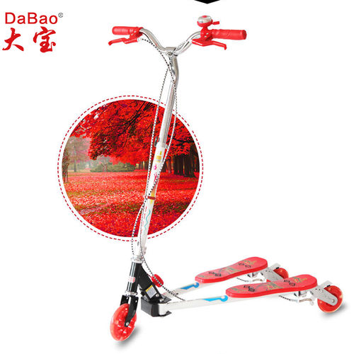 3 wheel frog kick scooter-DB8068M-W1