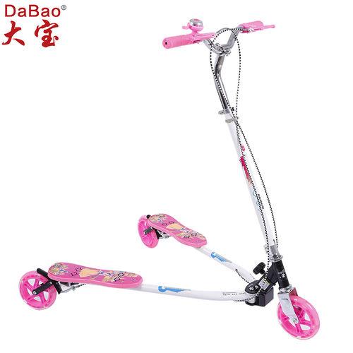 3 wheel frog kick scooter-DB8068L-W1-F
