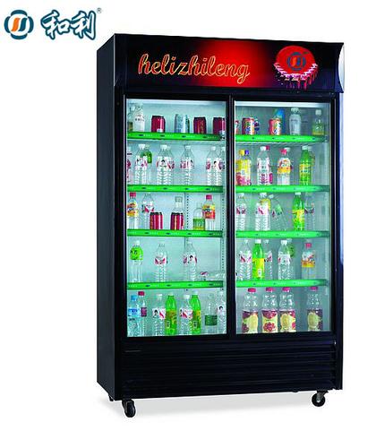 Double door beverage cooler-SC-700