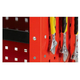 Open three-layer tool cart-JS-318