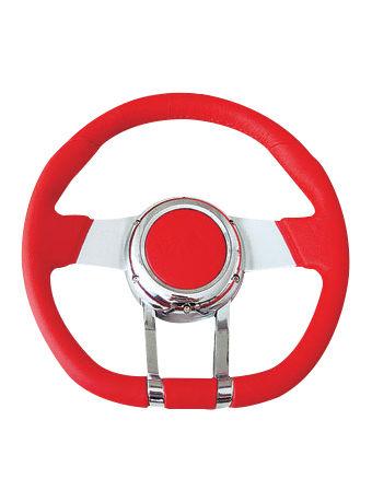 Leather steering wheel-JLL-070