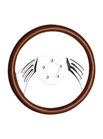 Wooden steering wheel-JLW-025