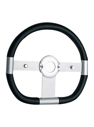 Leather steering wheel-JLL-049