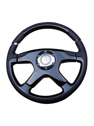 Wooden steering wheel-JLW-099