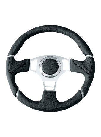 Leather steering wheel-JLL-071