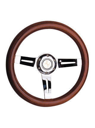 Wooden steering wheel-JLW-026
