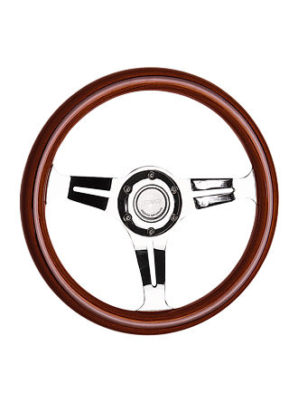 Wooden steering wheel-JLW-021