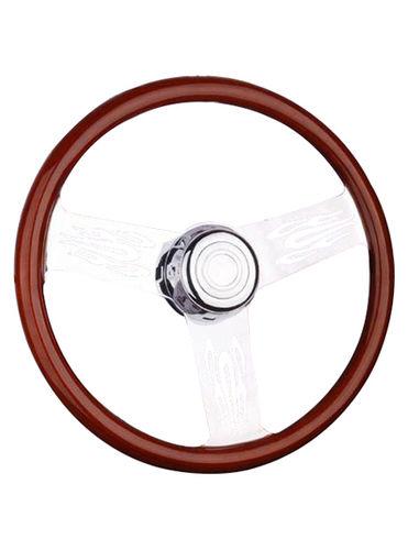 wooden steering wheel-TS-303