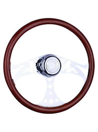 wooden steering wheel-TS-304