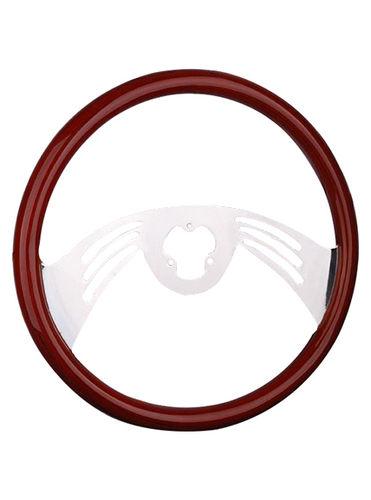 wooden steering wheel-TS-204