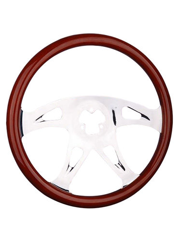 wooden steering wheel-TS-403