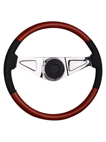 wooden steering wheel-TS-203