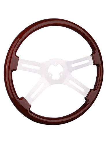 wooden steering wheel-TS-401