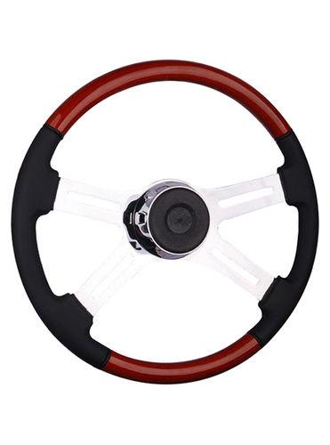 wooden steering wheel-TS-402