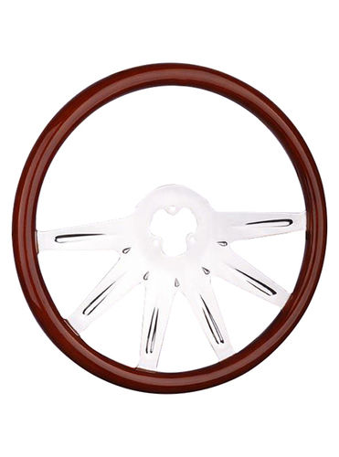 wooden steering wheel-TS-601