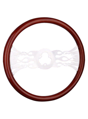 wooden steering wheel-TS-205