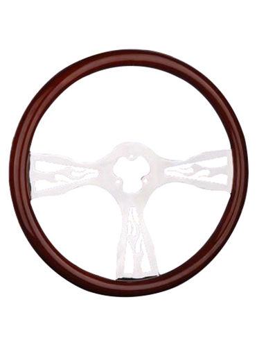wooden steering wheel-TS-302