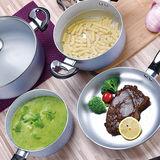 Sky Blue Pressed Aluminum Cookware Set -JX-PST-04