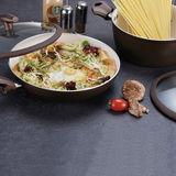 Saddle BrownForged Aluminum Cookware Set -JX-FST-07