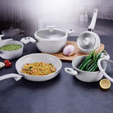 Non-Stick Marble Forged Aluminum Cookware Set -JX-FST-05