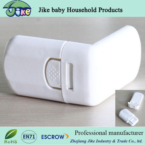 L shape cabinet lock baby safety latch-JKF13341