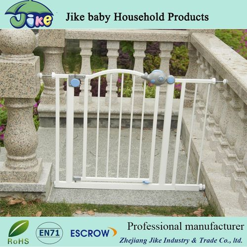 Easy Step Walk Thru Gate baby safety gate Protect Banisters-JKF13361