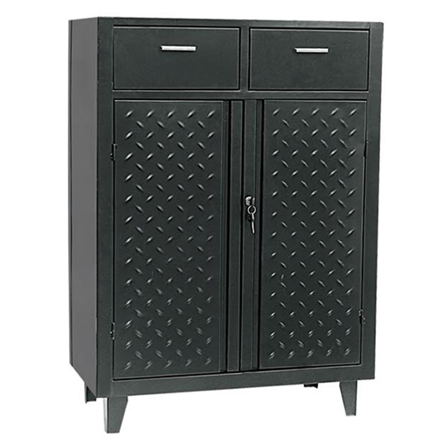Two drawers three-layer tool cabinet-JS-305