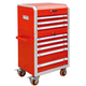 Eight drawers High-end tool cart-JS-310