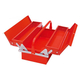 Two-tier three-cell portable toolbox-JS-07