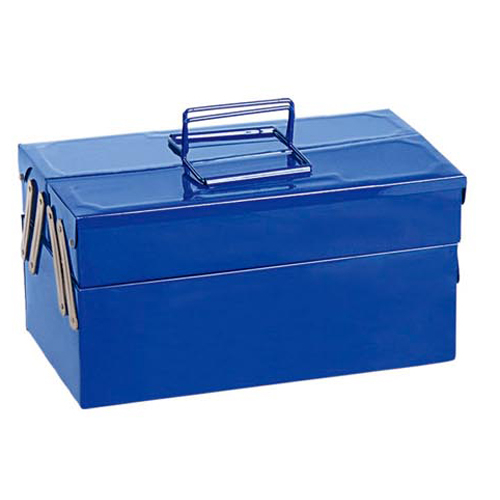 Two-layer portable toolbox-JS-11
