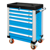 Six pumping auto repair tool car -JS-308 Six Drawers.